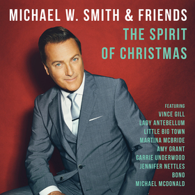"Michael W. Smith and his granddaughter Audrey, who is featured on ""Somewhere In My Memory"" on ""The Spirit of Christmas."""