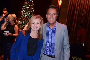 Michael W. Smith with U.S. Congressman Marsha Blackburn (R-TN)